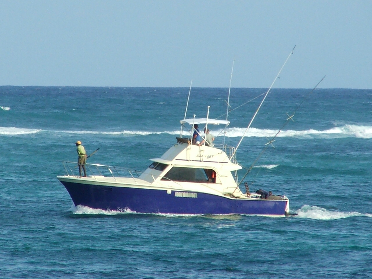 Sport Fishing Boat Florida